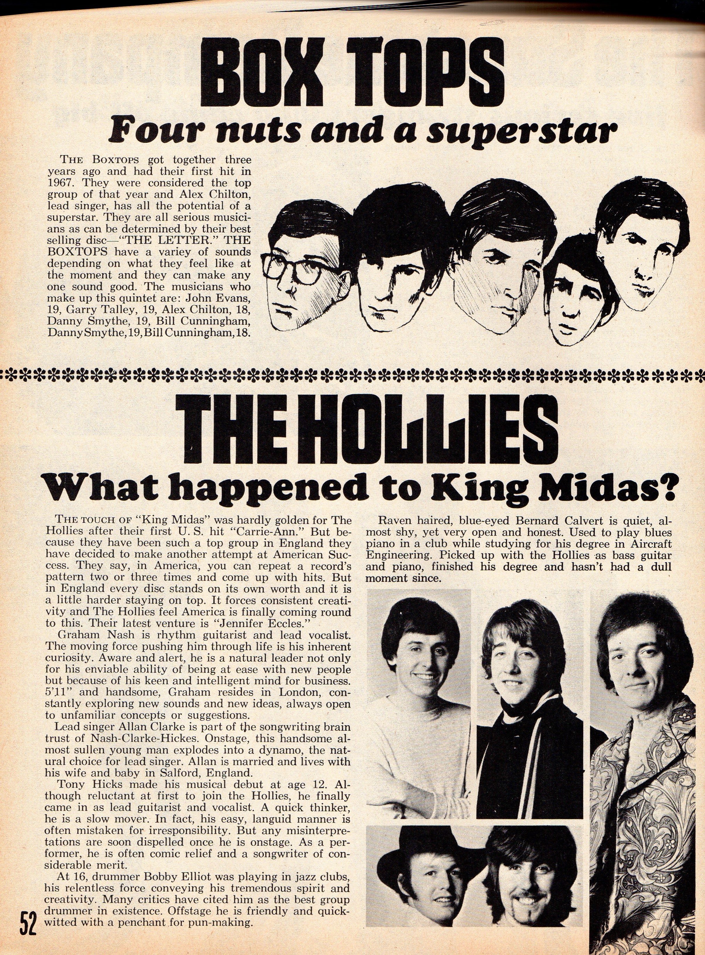 Some Articles From 1960s Music Magazines
